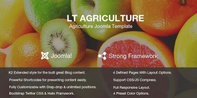 LT Agriculture – Responsive Joomla Template