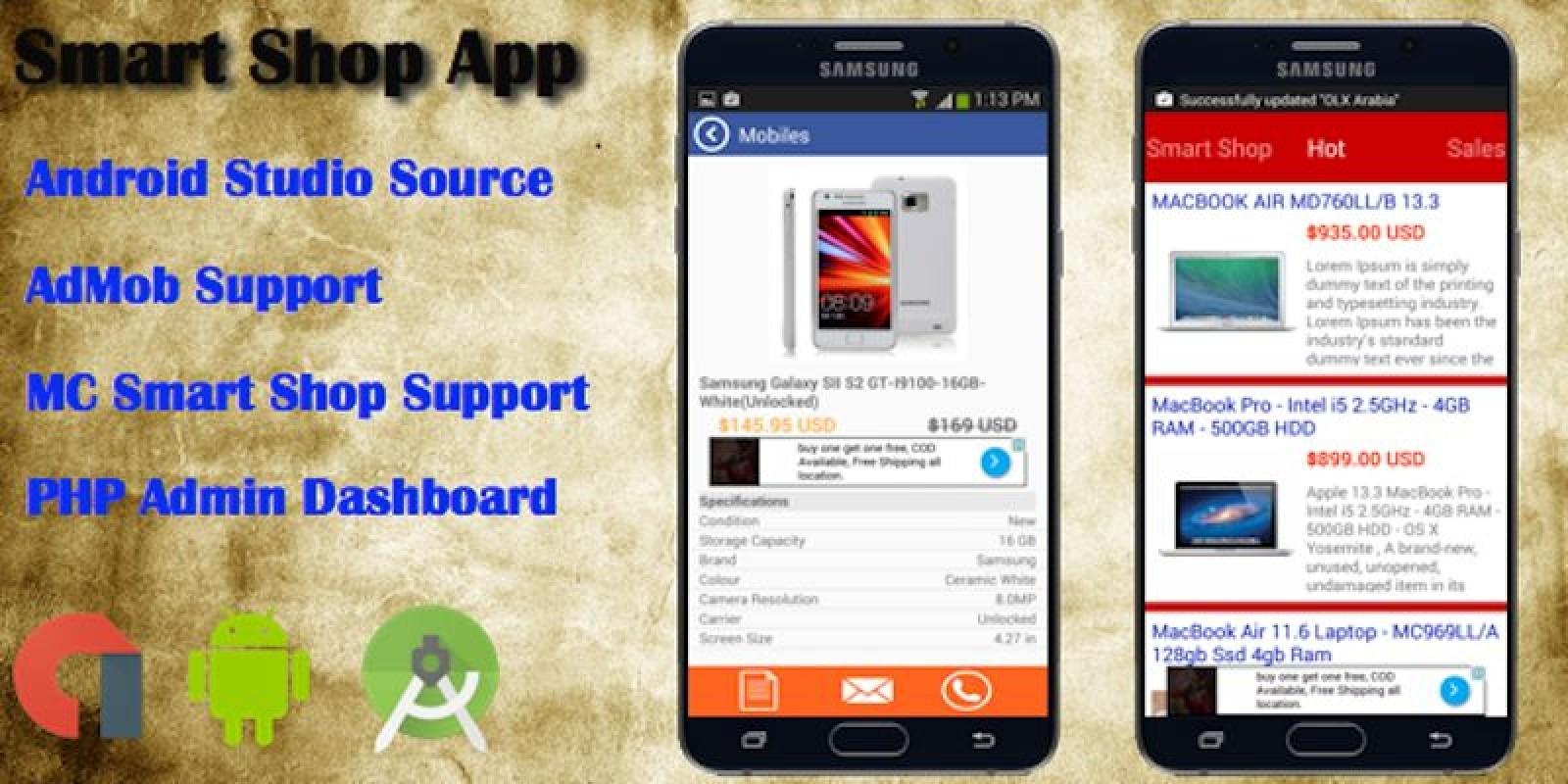 MC Smart Shop - Android App Source Code