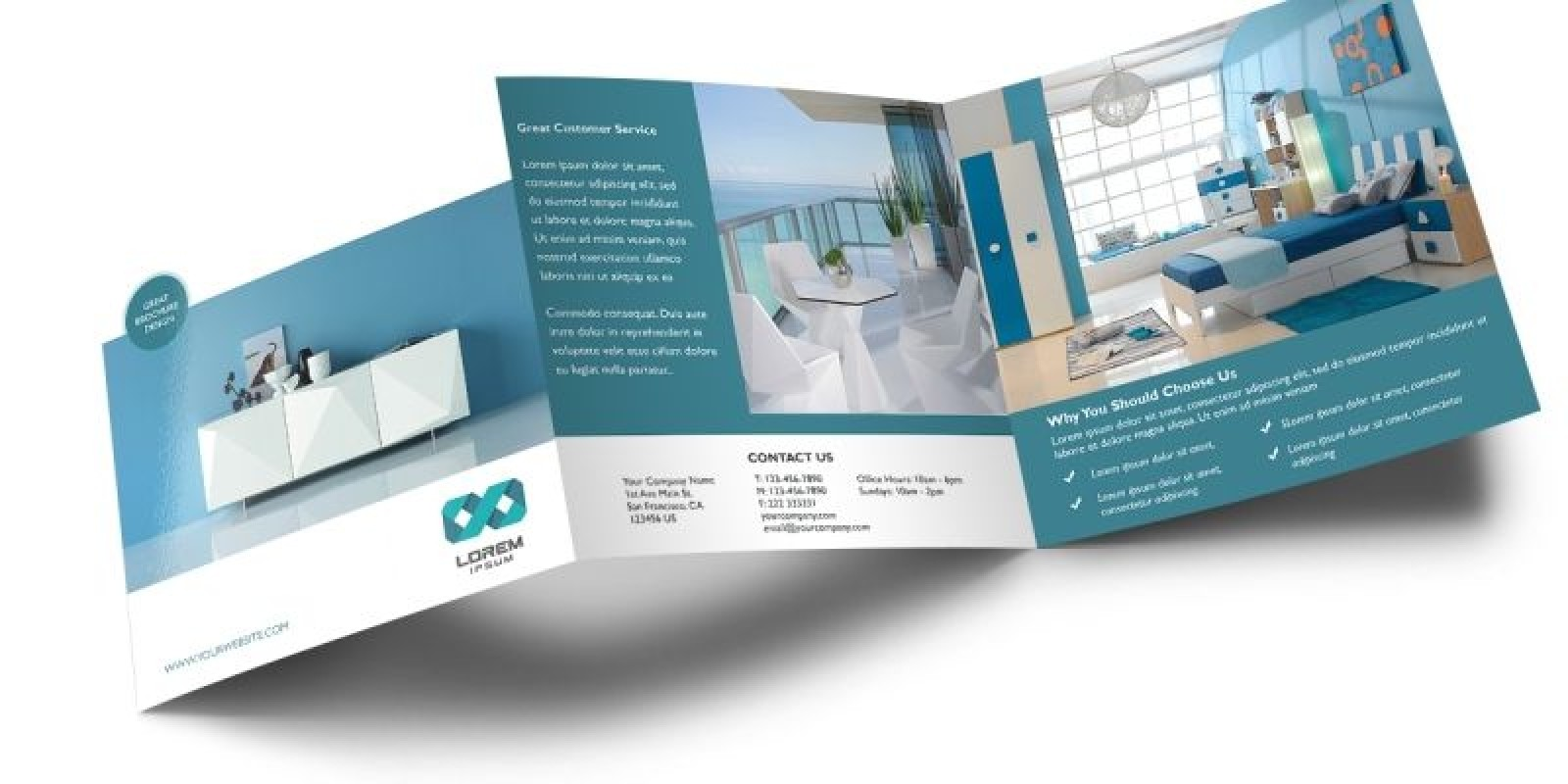 Square - Brochure Template