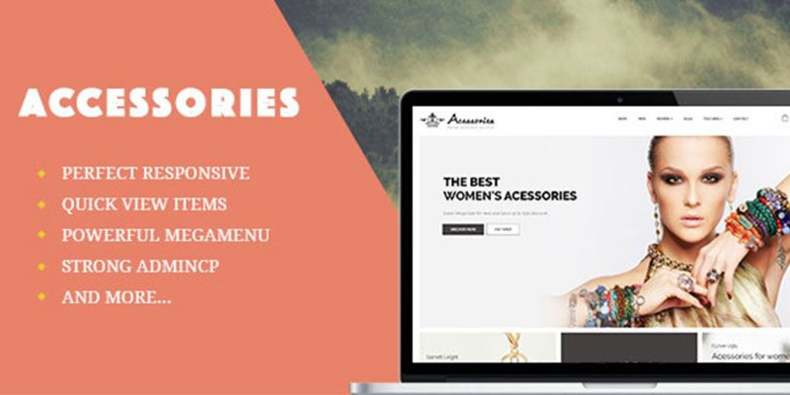 Ap Accessories PrestaShop Theme