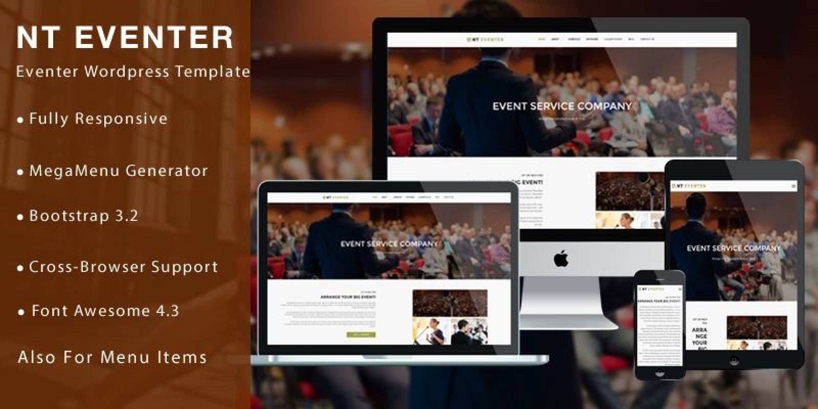 NT Eventer – Event WordPress Theme