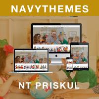 NT Priskul – Education WordPress Theme