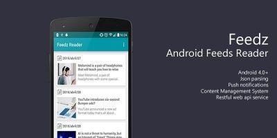 Feedz - Android Feeds Reader App Source Code