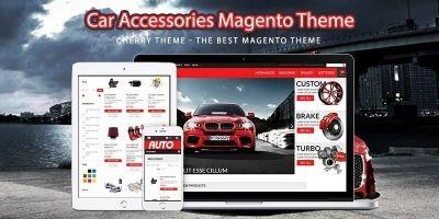 Car Accessories Magento Theme