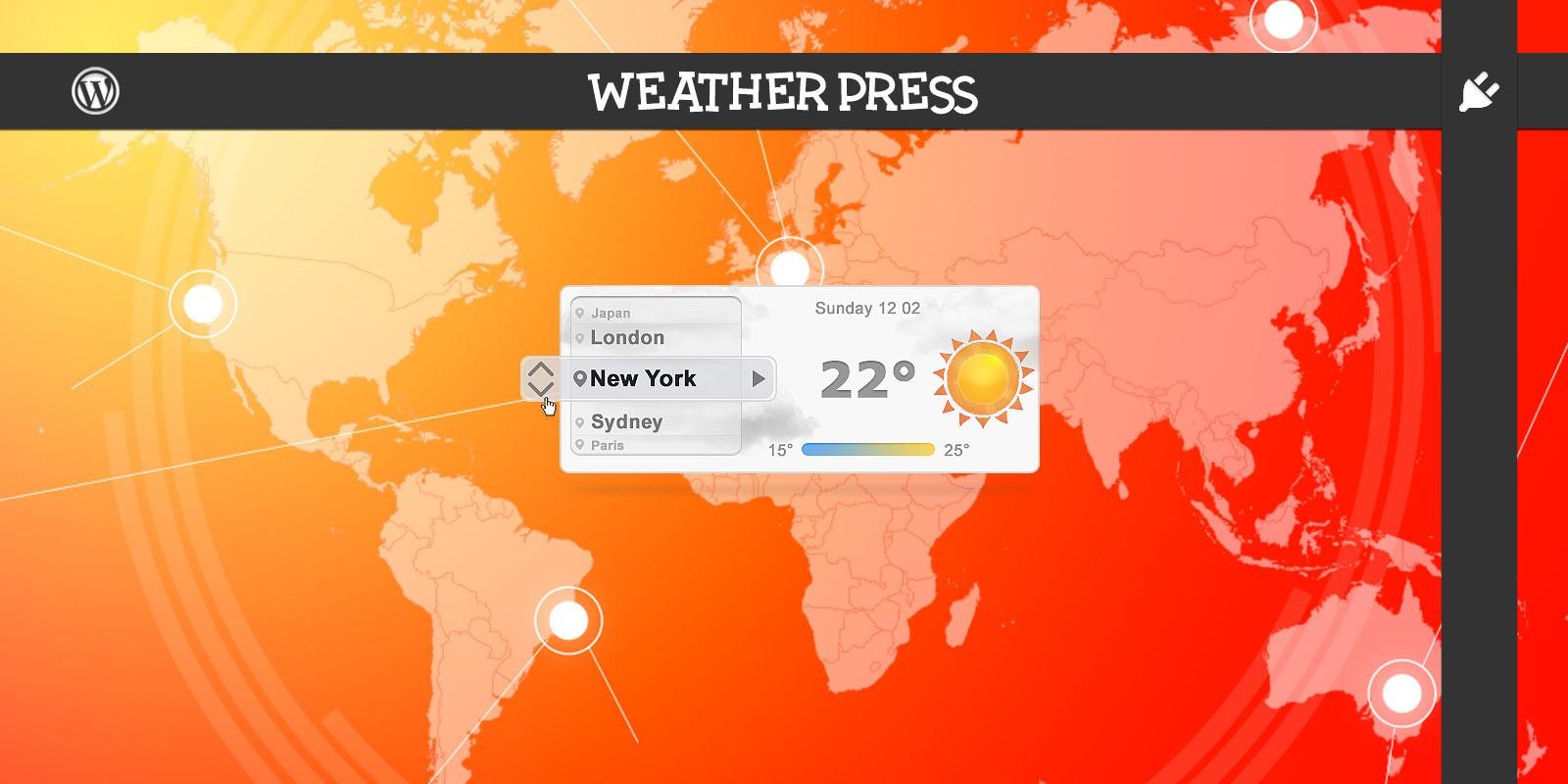 Weather Press - WordPress Weather Plugin