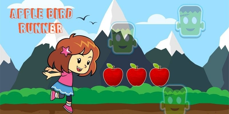 Apple Bird Runner - Corona Game Template