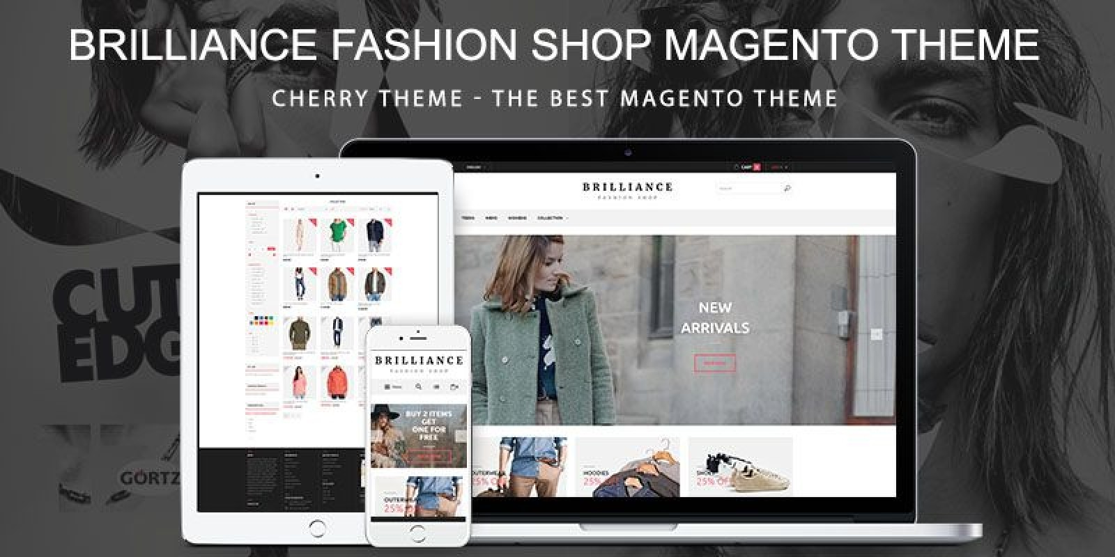 Brilliance Fashion Shop  Responsive Magento Theme