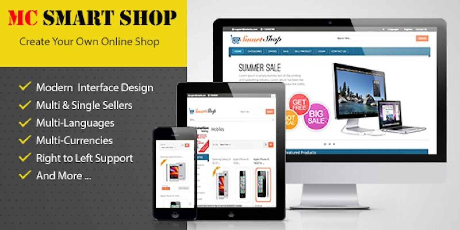MC Smart Shop - PHP Script