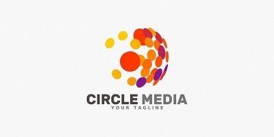 Circle Media - Logo Template