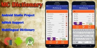 MC Dictionary - Android App Source Code