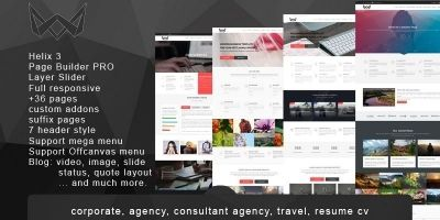 King Cronos - Joomla Business Template