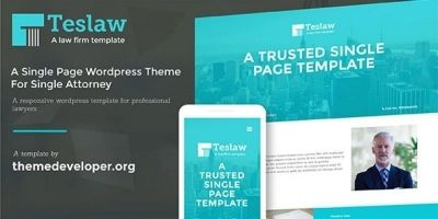 Tesla - Law Firm Business Theme