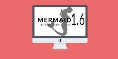 Create Photography Portfolio Website - Mermaid CMS