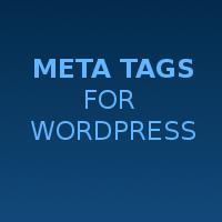 Wordpress Meta Tags - WordPress Plugin