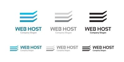 Web Hosting - Logo Template