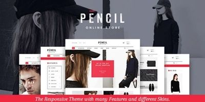 Pencil - Responsive Shopify Theme