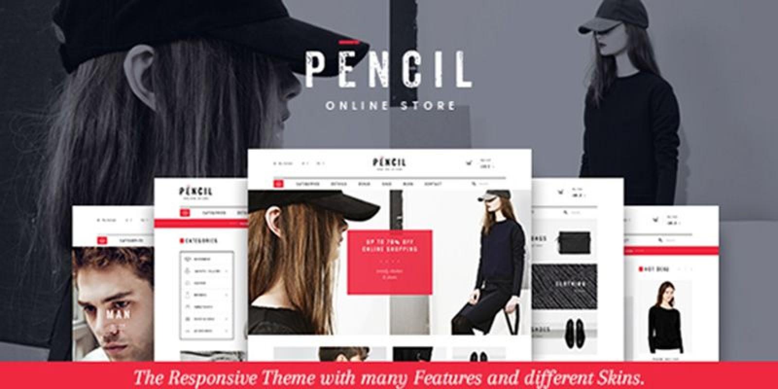 Pencil - Responsive Shopify Theme