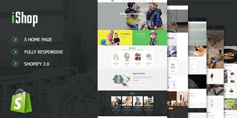 iShop - Shopify Theme