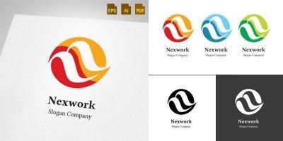 Nexwork Letter N - Logo Template