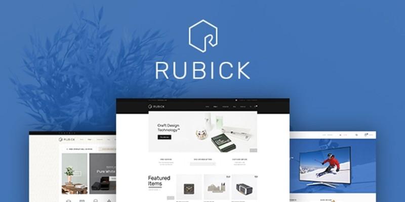 Rubick - Responsive WordPress Theme