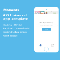 iMoments - iOS  App Template