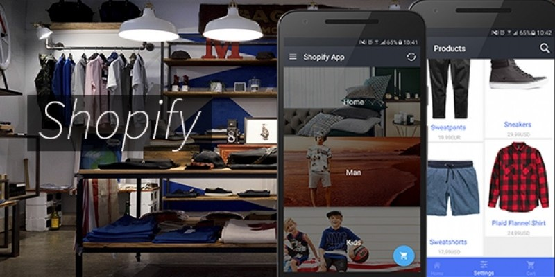 Shopify App - Full Android App Source Code