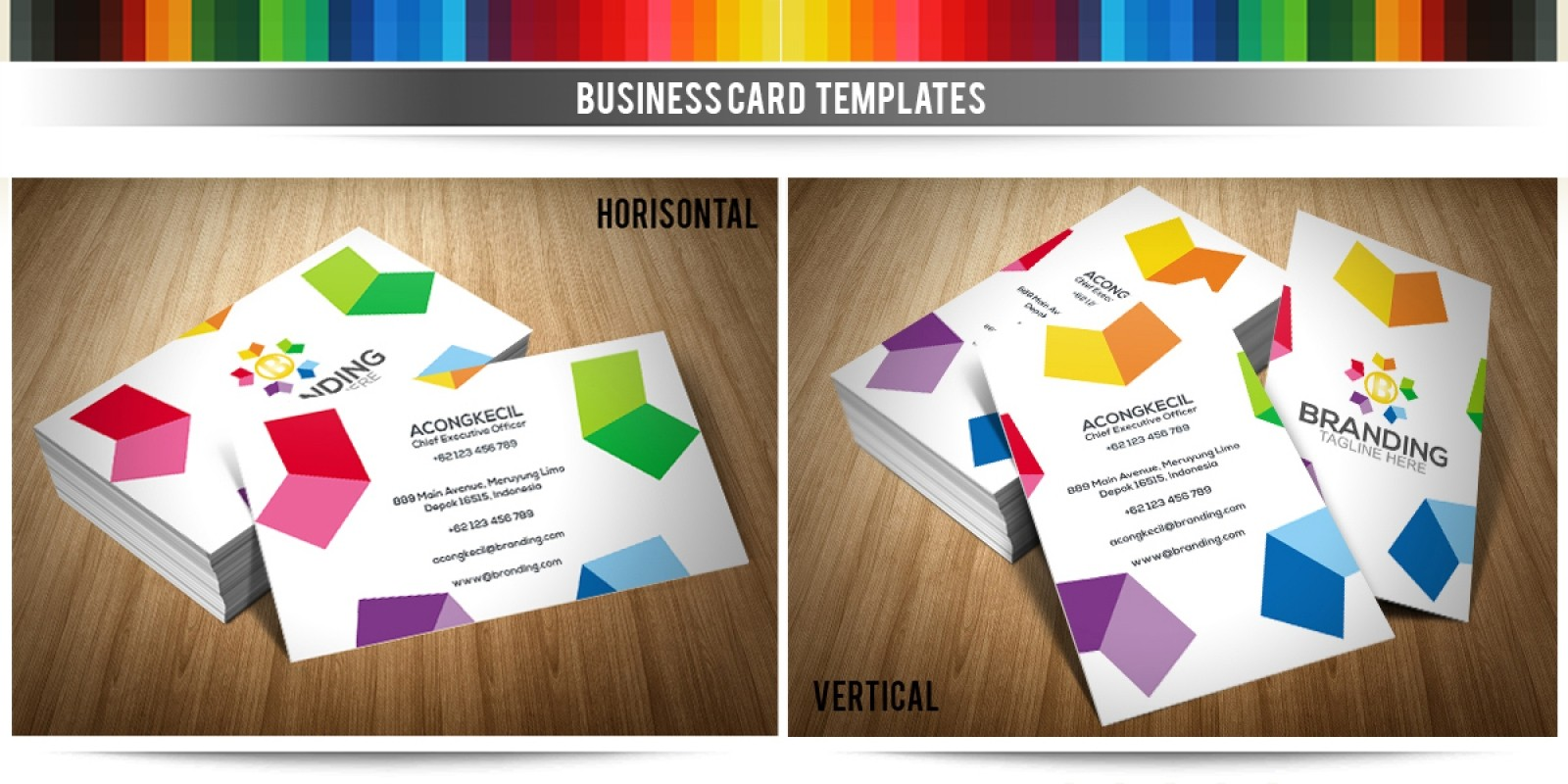 Branding - Business Card Template