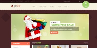 Giftshop Shopify Theme