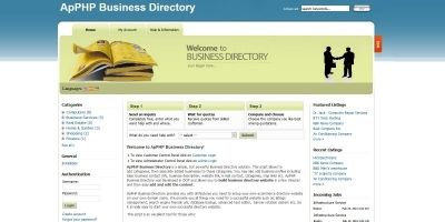 PHP Business Listings Classified Directory Script