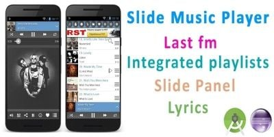 Slide Music Player - Android Source Code