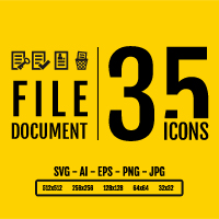 File Document Icon Pack