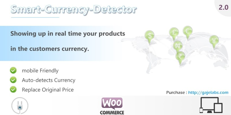 Smart Currency Detector - WooCommerce Plugin