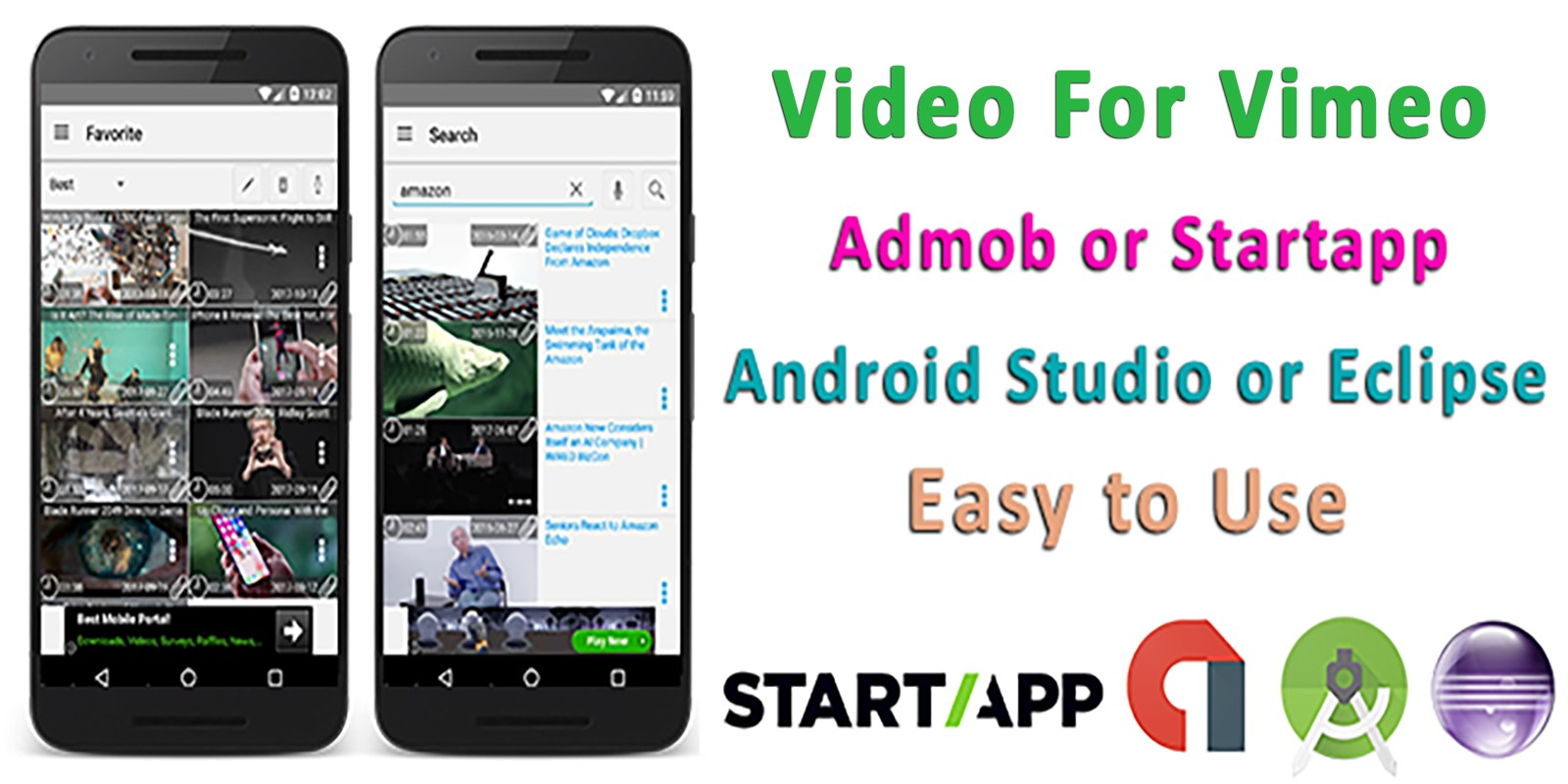 Vimeo Video Player - Android Source Code