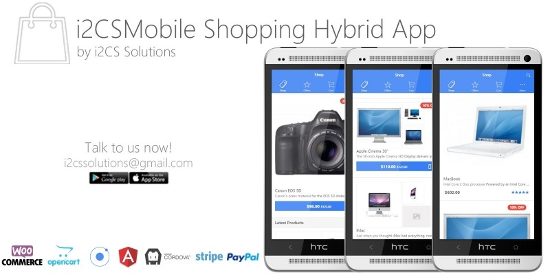 Ionic Opencart Mobile App Template