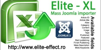 Elite-XL - Excel Importer Joomla Extension