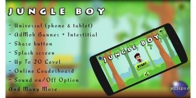 Jungle Boy - Android Game Source Code