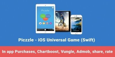 Piczzle - iOS Swift Game Source Code