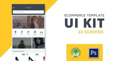 Shoppy - eCommerce Android Studio UI KIT