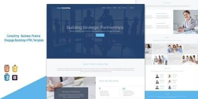 Grow Consulting - Business HTML Bootstrap Template