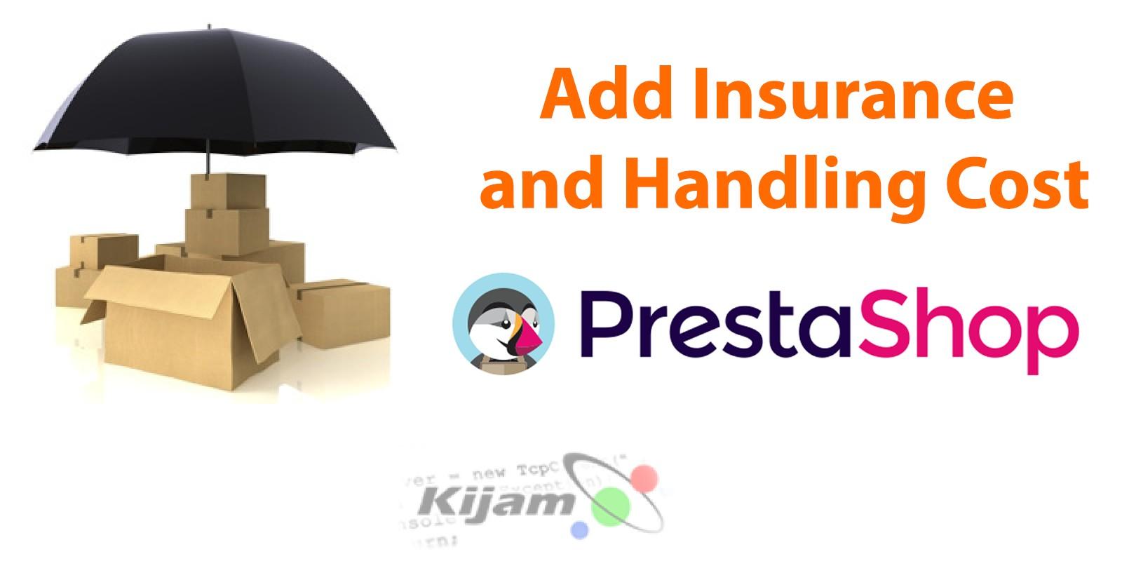 Insurance and Handling Cost - PrestaShop Module