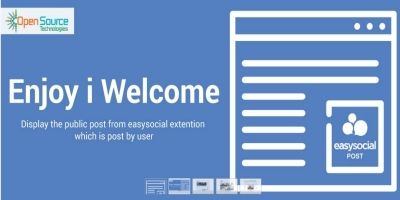 Enjoy I Welcome - Display Easysocial Post
