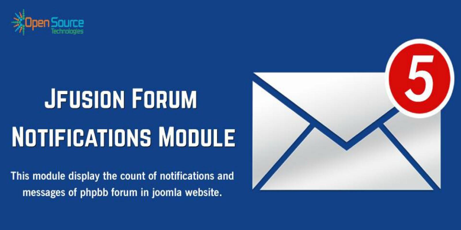 Jfusion Forum Notifications Message Module