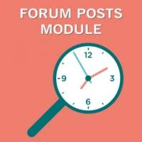 Jfusion Forum Posts Module