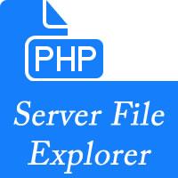 Server File Explorer - PHP File Manager Script