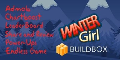 Winter Girl - Buildbox Game Template