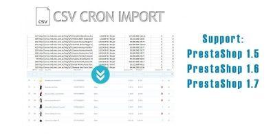 CSVCronImport - PrestaShop Module