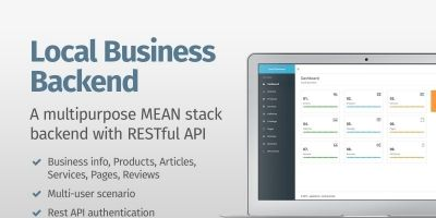Local Business MEANStack Backend