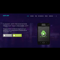 Soft App - One Page HTML Template