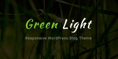 GreenLight - WordPress Blog Theme