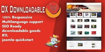 OX Downloadable - Joomla Extension